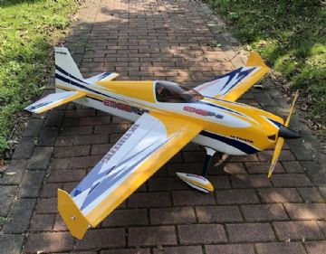 "NEW  Skywing 74"" Edge 540 V2-B Yellow Covered"